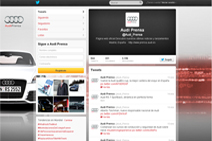Twitter Audi Prensa