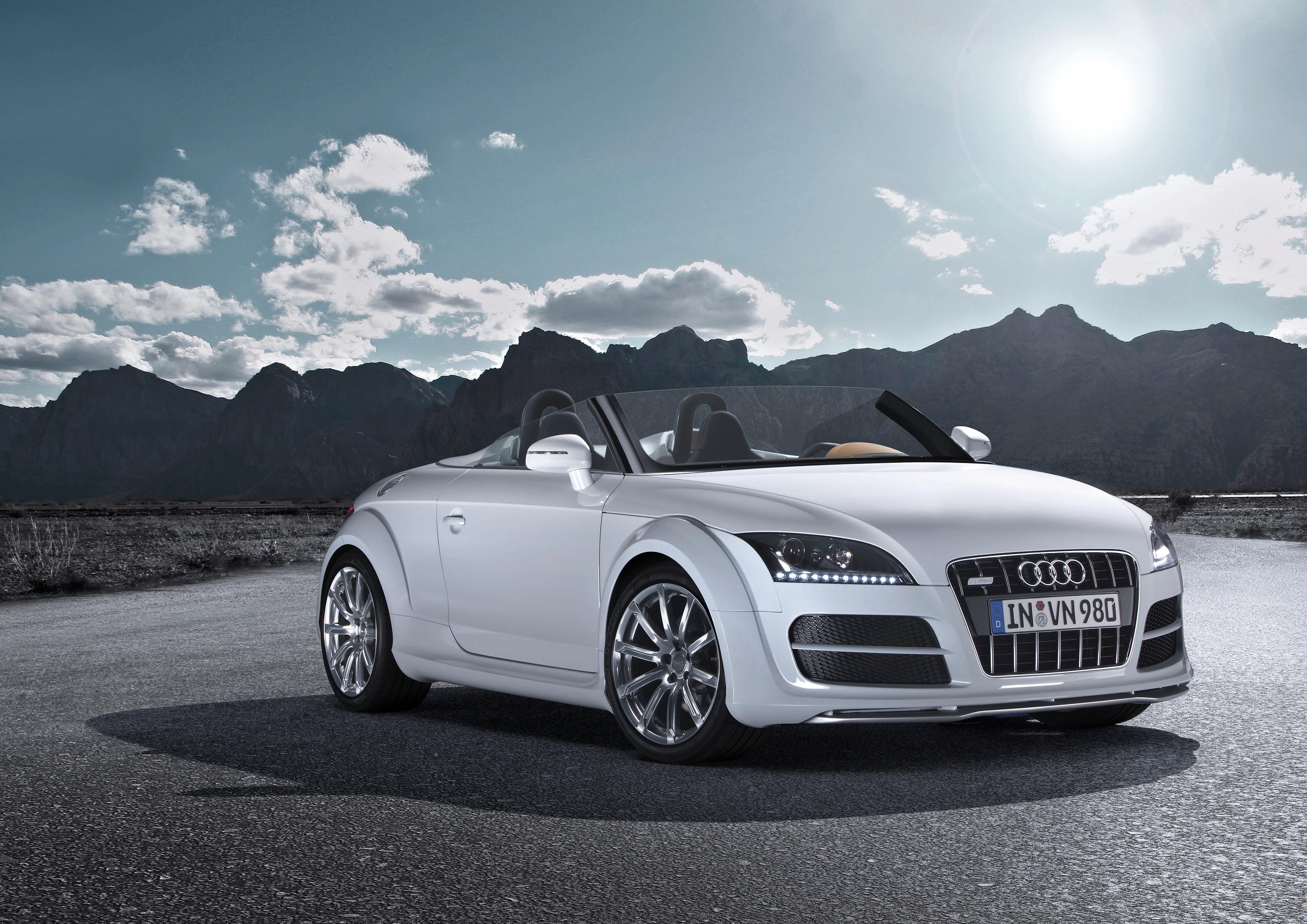 Audi Tt Clubsport Quattro Mas De 300 Cv A Cielo Descubierto Audi Mediaservices Espana
