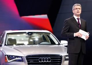 Audi AG supera ampliamente sus previsiones de venta en 2009