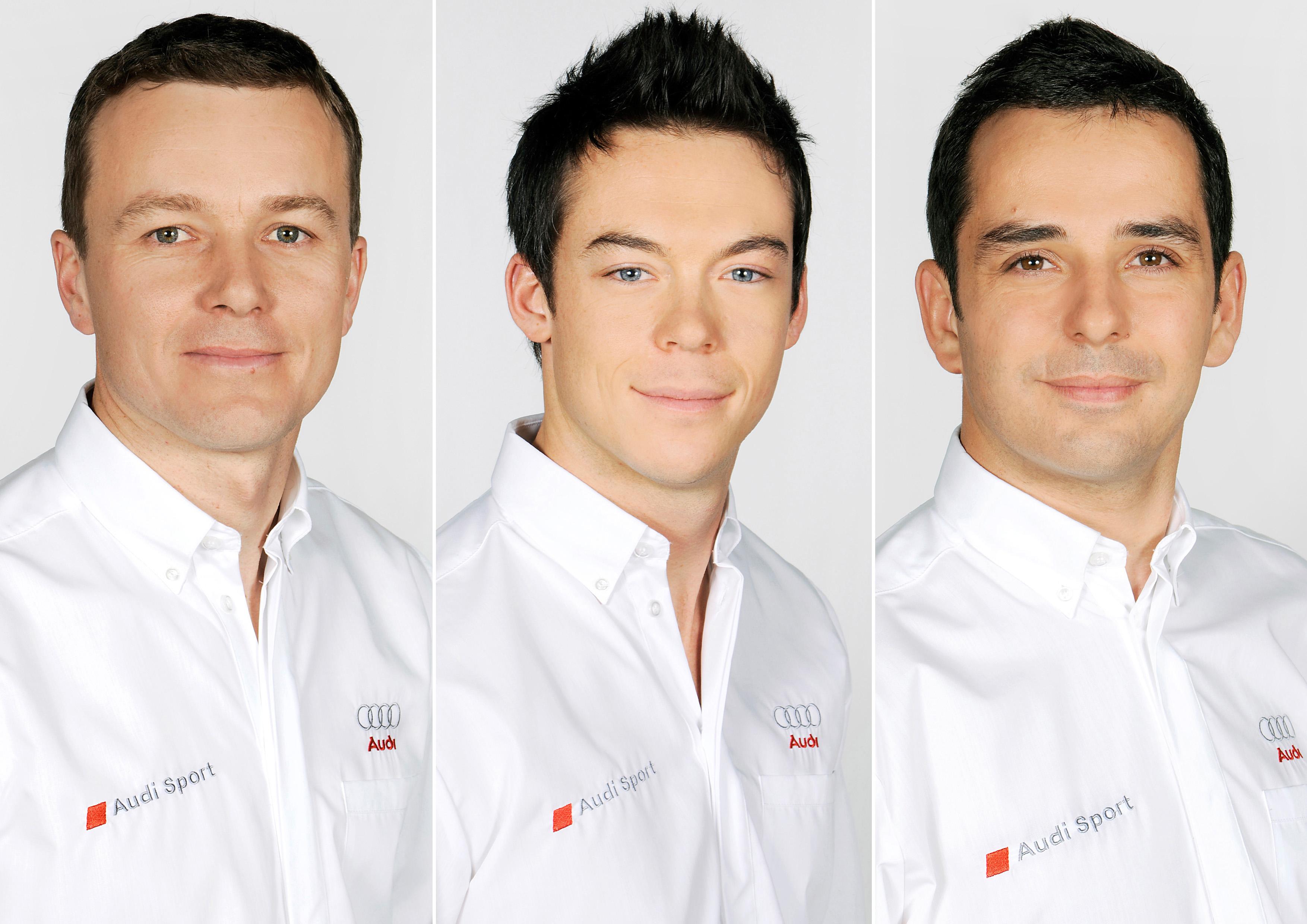 Marcel F?ssler, Andre Lotterer, Benoit Treluyer