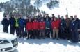 La plantilla del FC Barcelona Borges realiza el Audi driving experience sobre nieve en Grandvalira