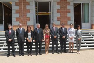 Su Alteza Real la Princesa de Asturias recibe a Attitudes en audiencia