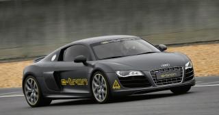 El Audi R8-Etron gana el Rally Silvretta E-Auto