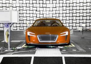 Audi investiga en la acústica de los futuros vehículos eléctricos