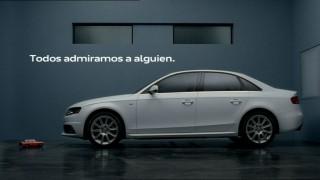 """Emoción y admiración en la nueva campaña """"Robot"""" del Audi A4"""