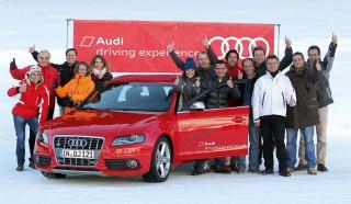Madrid-Caser Seguros, campeón de la GP42 en el Audi Medcup, regatea por el hielo