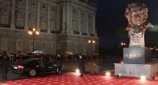 Audi conduce a los Premios Goya