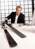 Nuevo esquí de carbono de Audi: diseño ligero para deportes de invierno