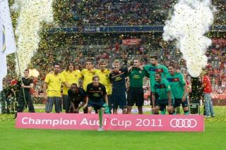 El FC Barcelona gana la Audi cup 2011