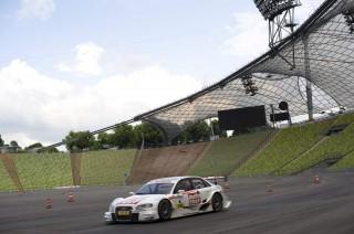 Audi y Miguel Molina correrán en el Estadio Olímpico de Munich