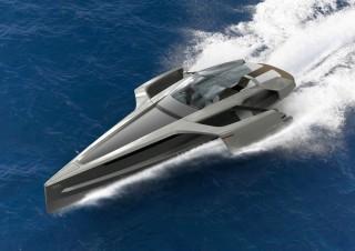 Audi Trimarán, original proyecto de embarcación deportiva