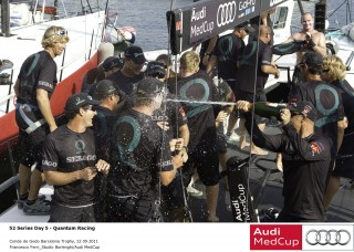 Quantum e Iberdrola, ganadores del circuito Audi Medcup 2011