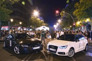 Audi desfila con glamour en la noche de la moda