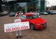Audi celebra sus diez millones de vehículos en el segmento de las berlinas medias