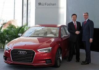 Nueva planta en China para construir el Audi A3 para el mercado local