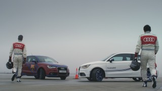 Audi lanza una espectacular campaña con motivos del encuentro Real Madrid CF - FC Barcelona
