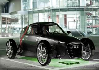 Audi apuesta por la recarga inalámbrica para su vehículos e-tron