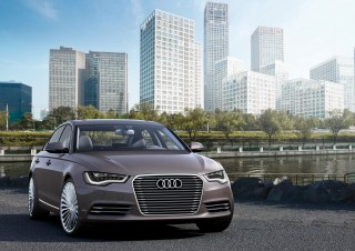 Audi A6 L e-tron concept: un híbrido enchufable para el segmento premium