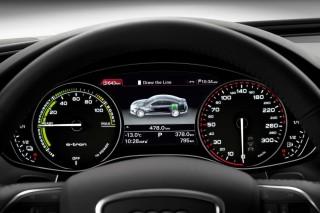 Audi A6 L e-tron concept/Detail