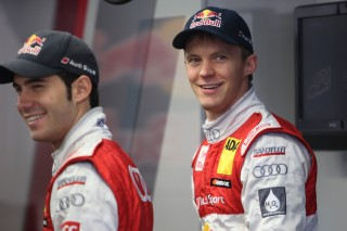 Miguel Molina y Mattias Ekstrom, pilotos Audi
