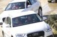 El FC Barcelona prueba el Audi Q3