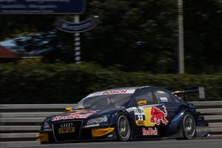 Miguel Molina. Audi A4 DTM. Norisring