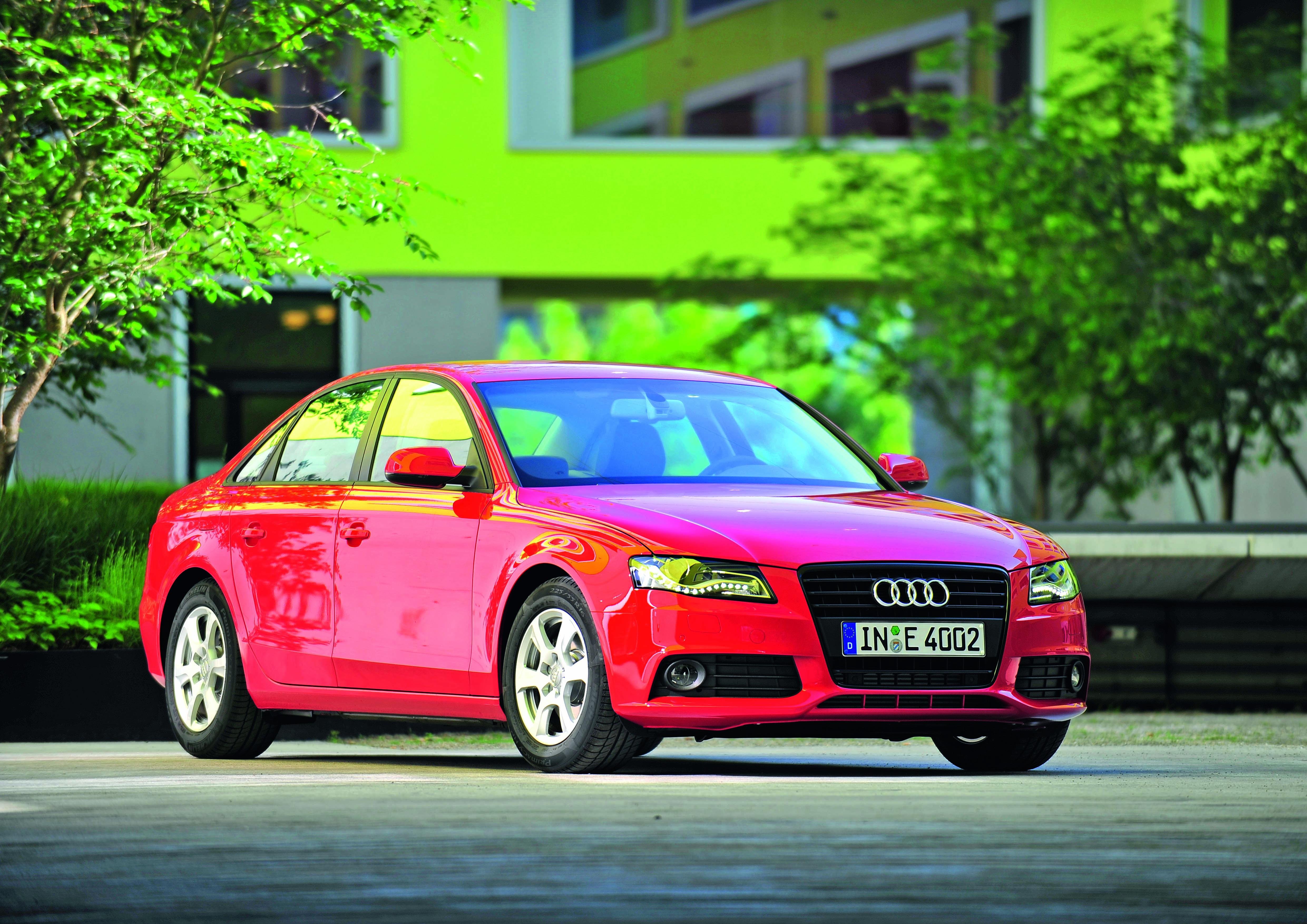 Audi A4 2.0 TDI/Standaufnahme