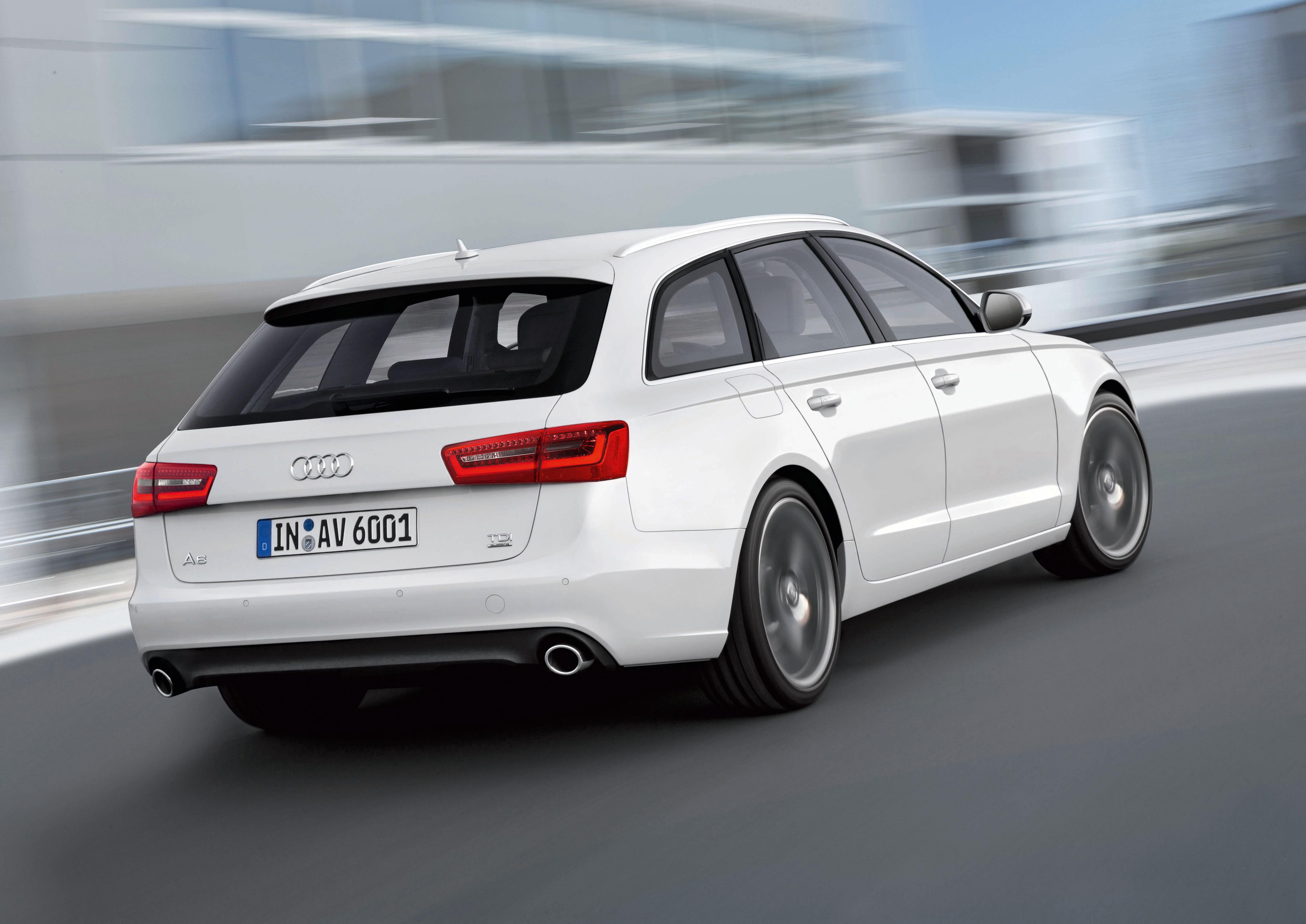Audi A6 Avant/Fahraufnahme