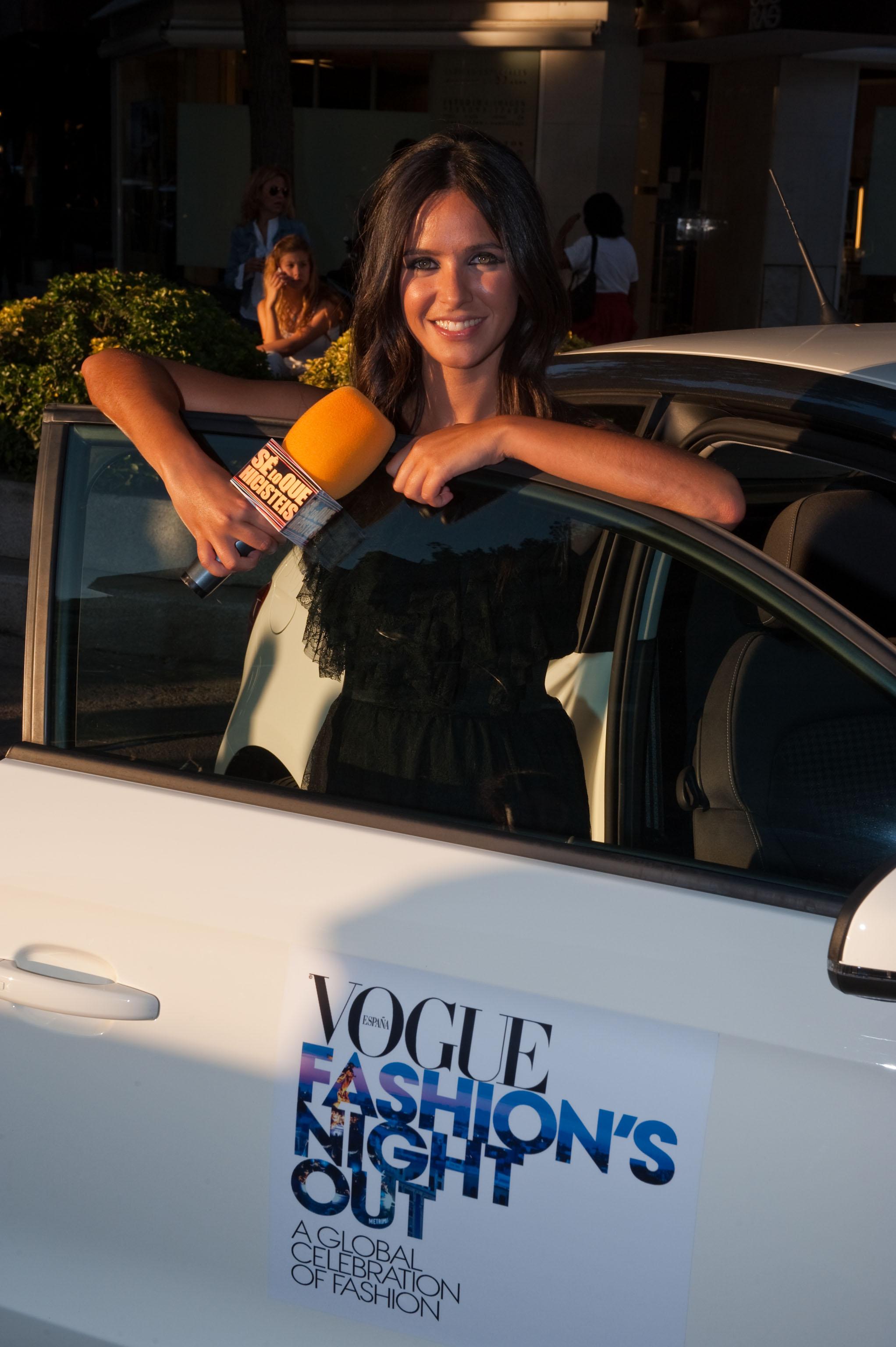 Paula Prendes, Vogue Fashion Night Out