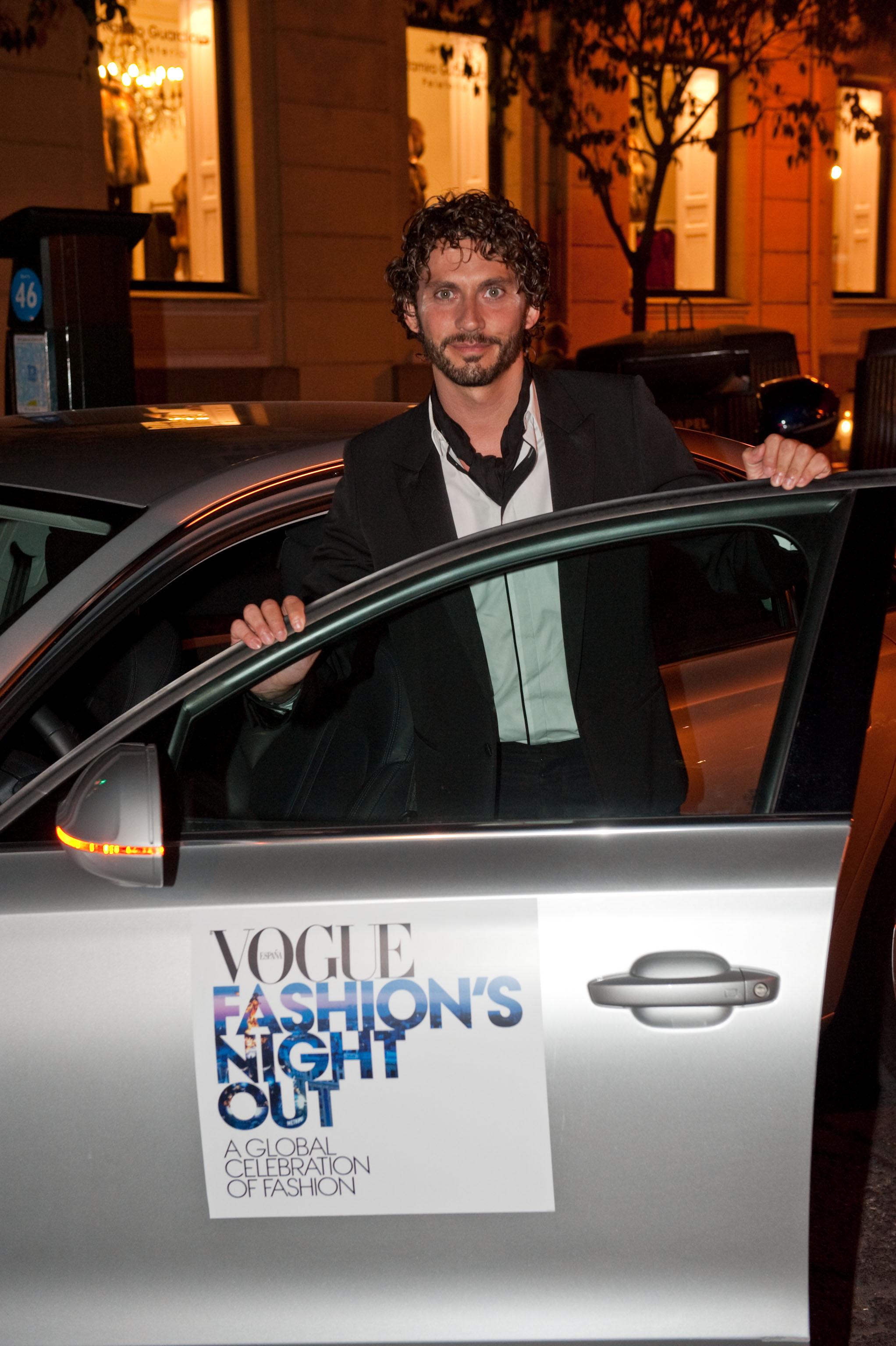 Paco León en Vogue Fashion Night Out