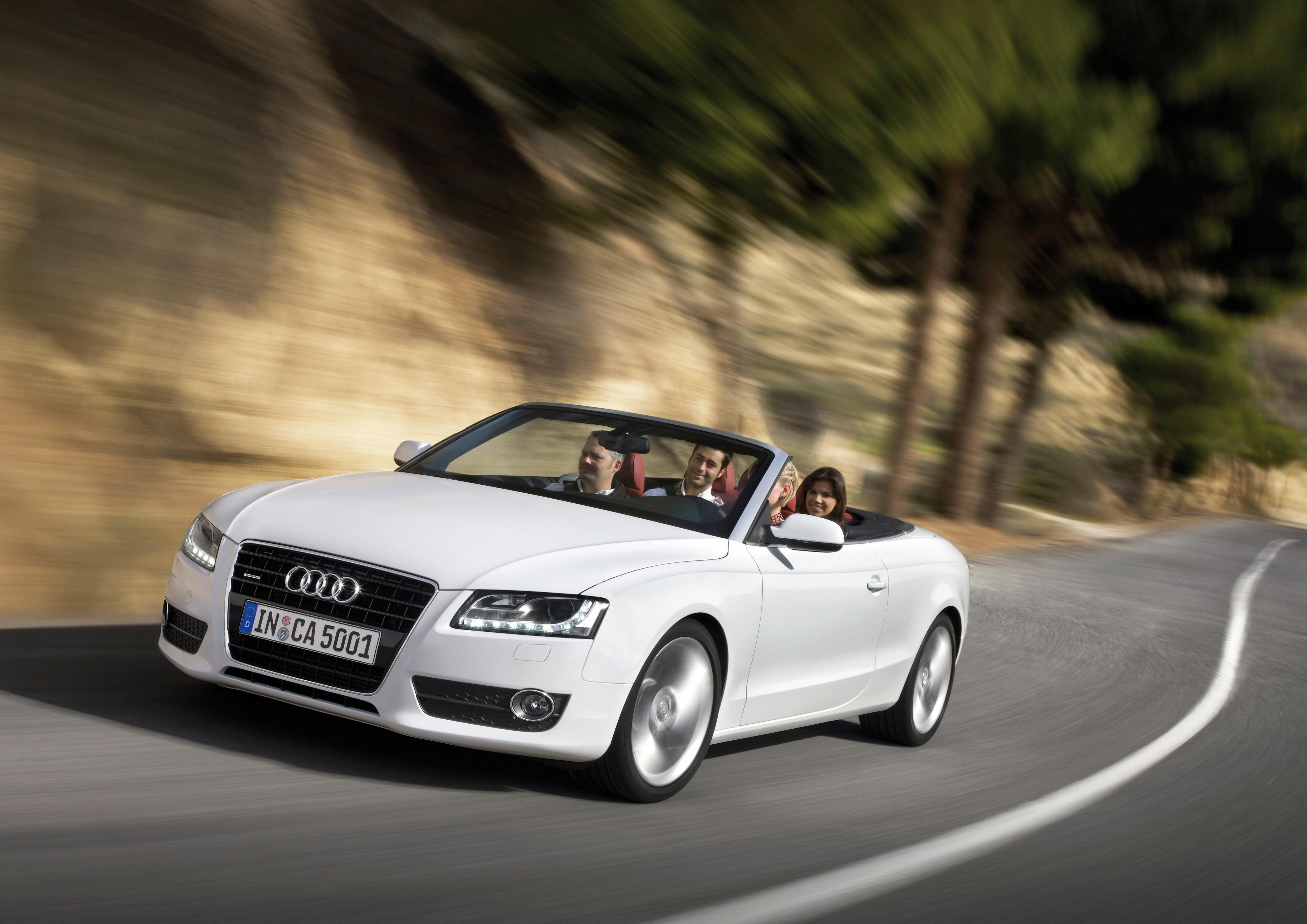 Audi A5 Cabriolet/Fahraufnahme