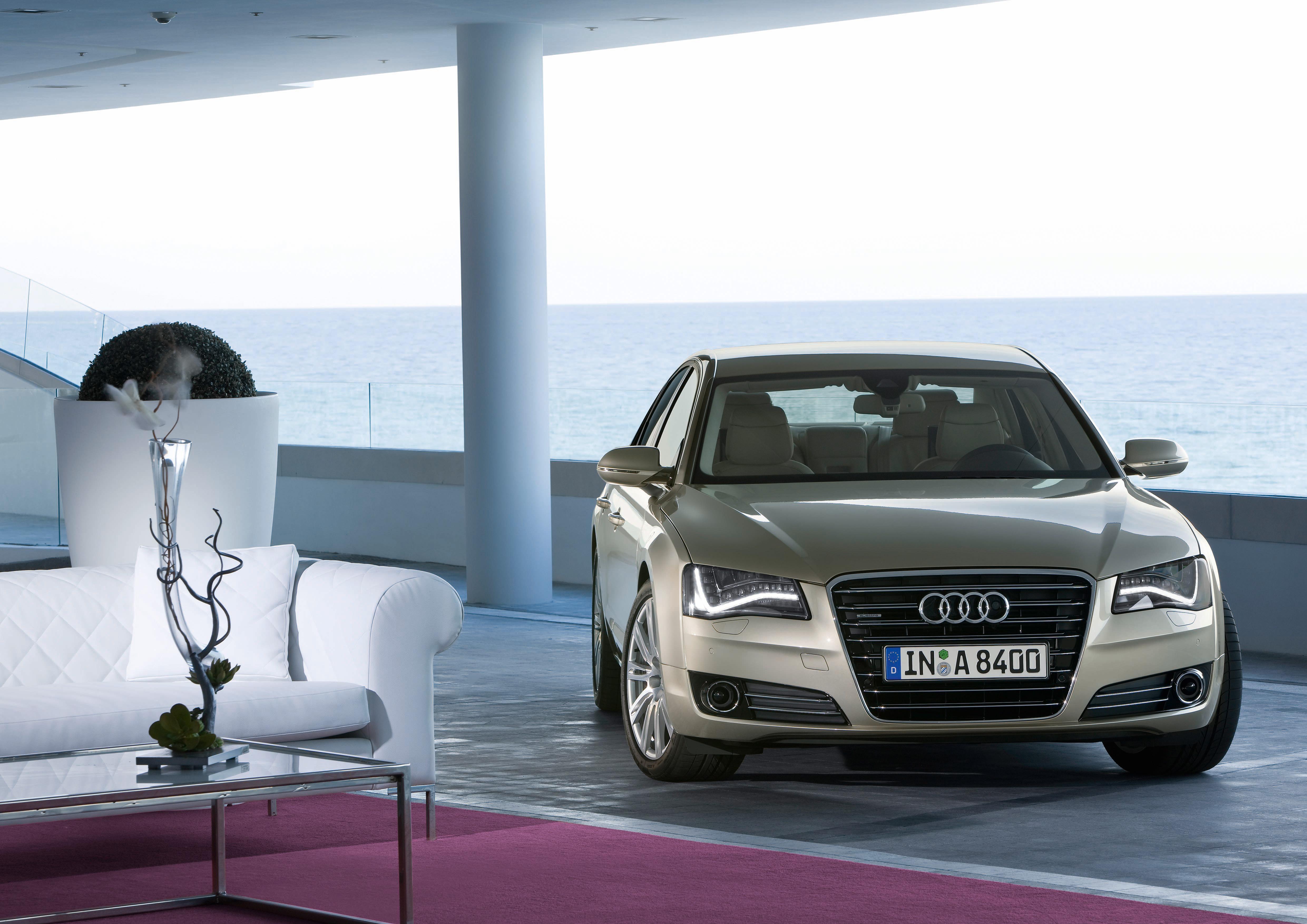 Audi A8 4.2 FSI quattro/Standaufnahme