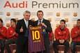 Entrega de Audi A FC Barcelona