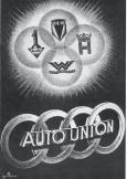 75 Jahre Vier Ringe/Fusion der Marken Audi, DKW, Horch und Wanderer am 29. Juni 1932