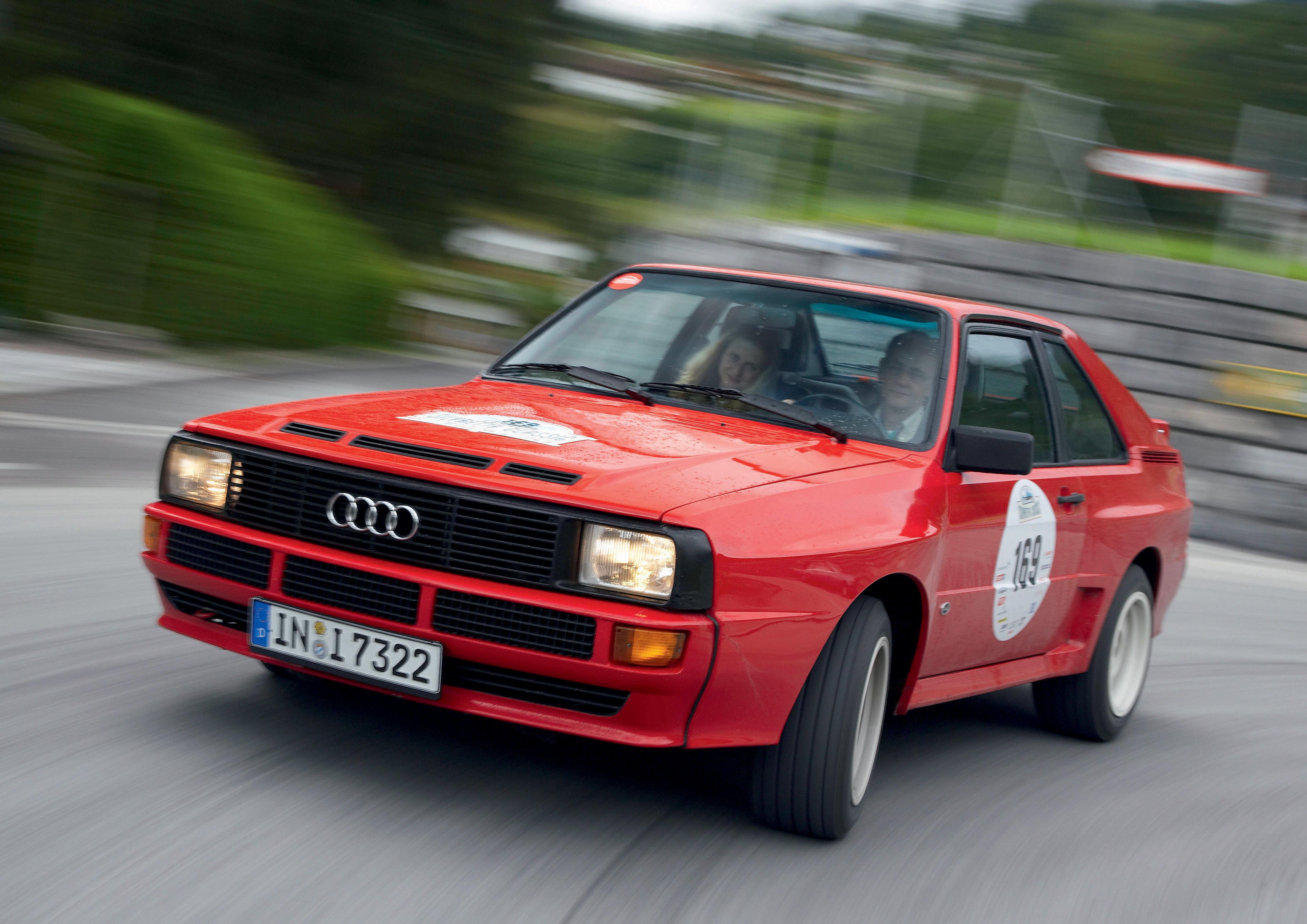 Audi Tradition feiert 25 Jahre Sportquattro
