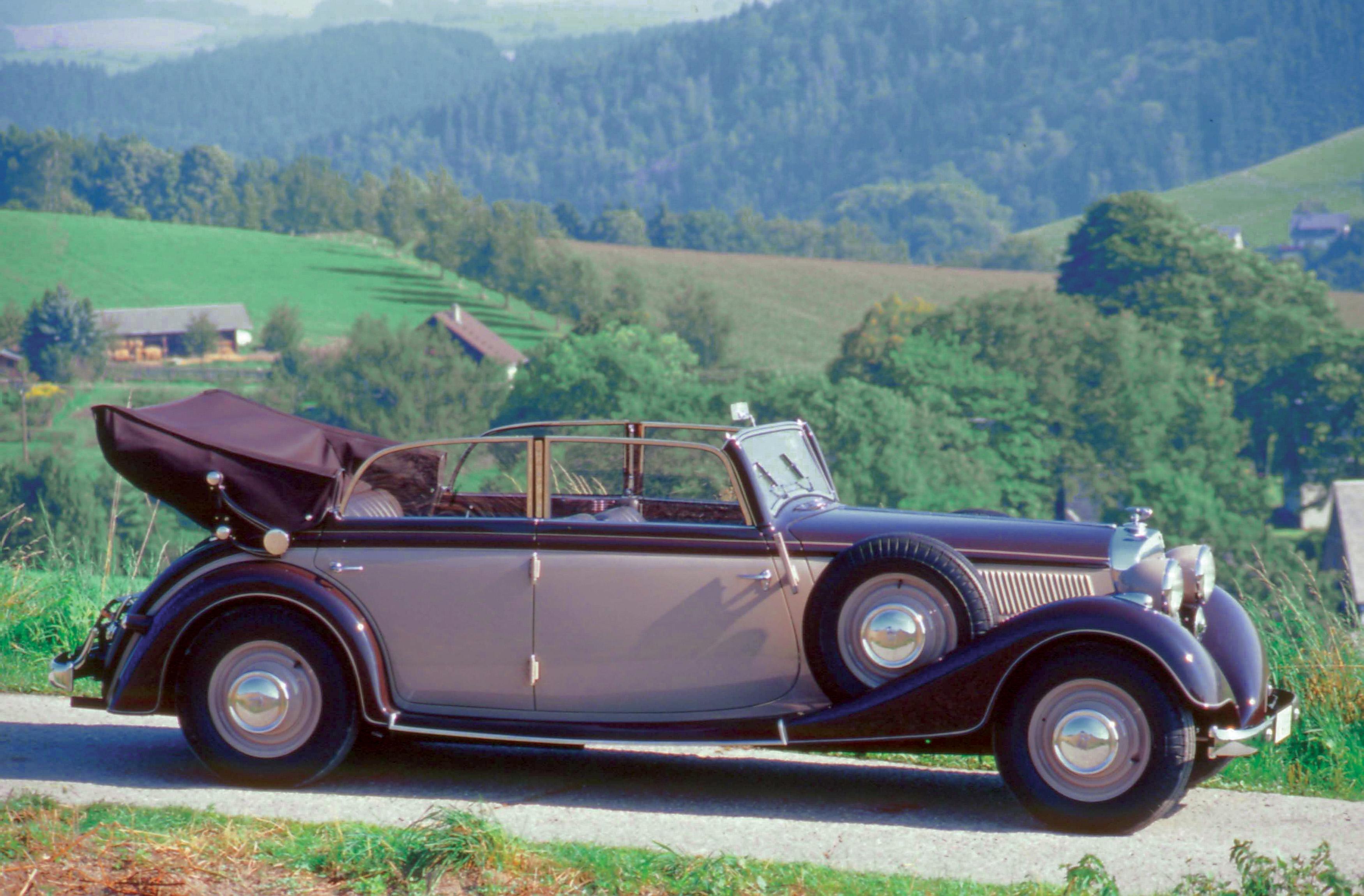 Horch 830 Bl 1938 Audi Mediaservices Espa 241 A