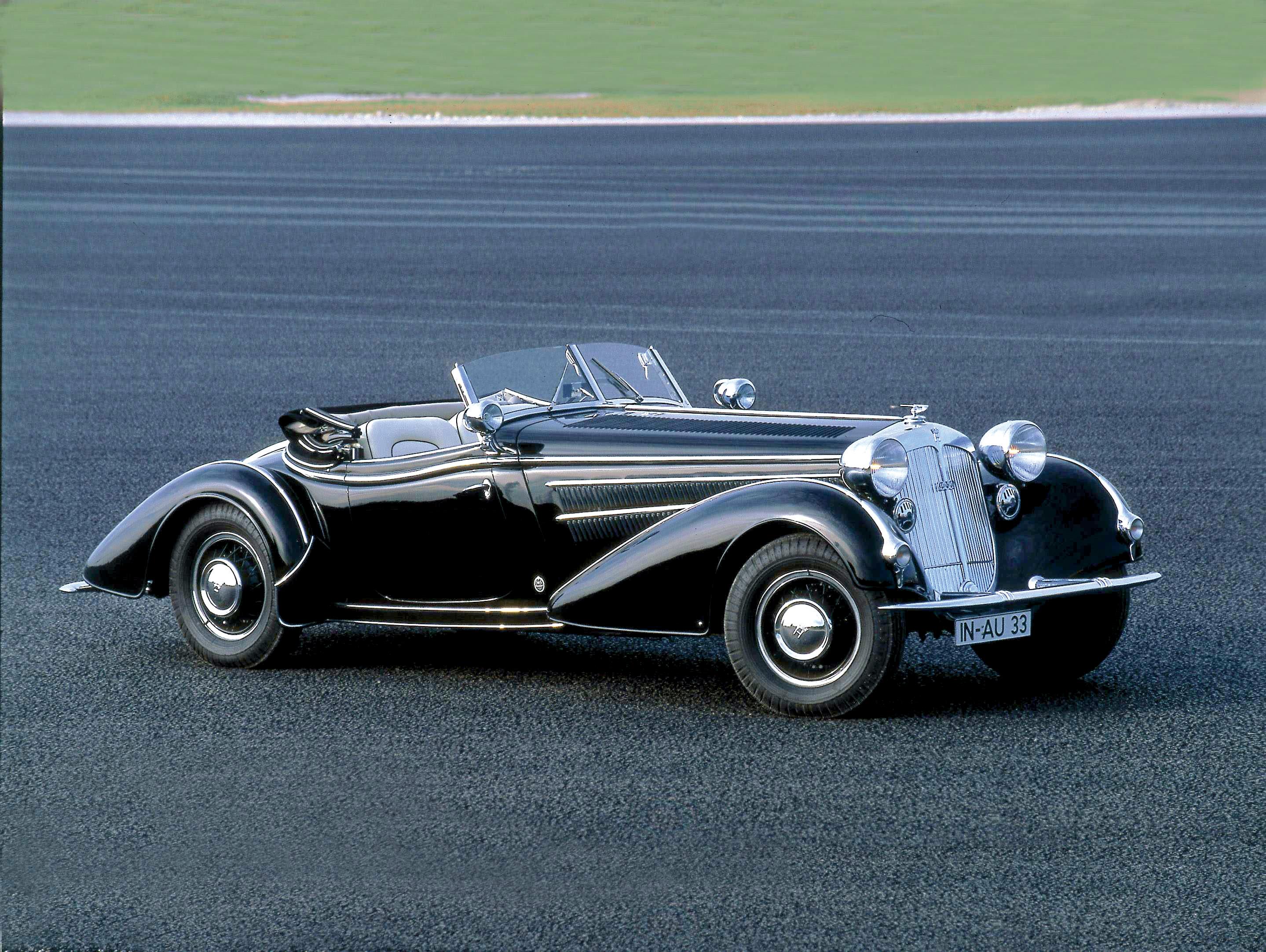 Horch 855 Spezial Roadster 1939 Audi Mediaservices Espa 241 A