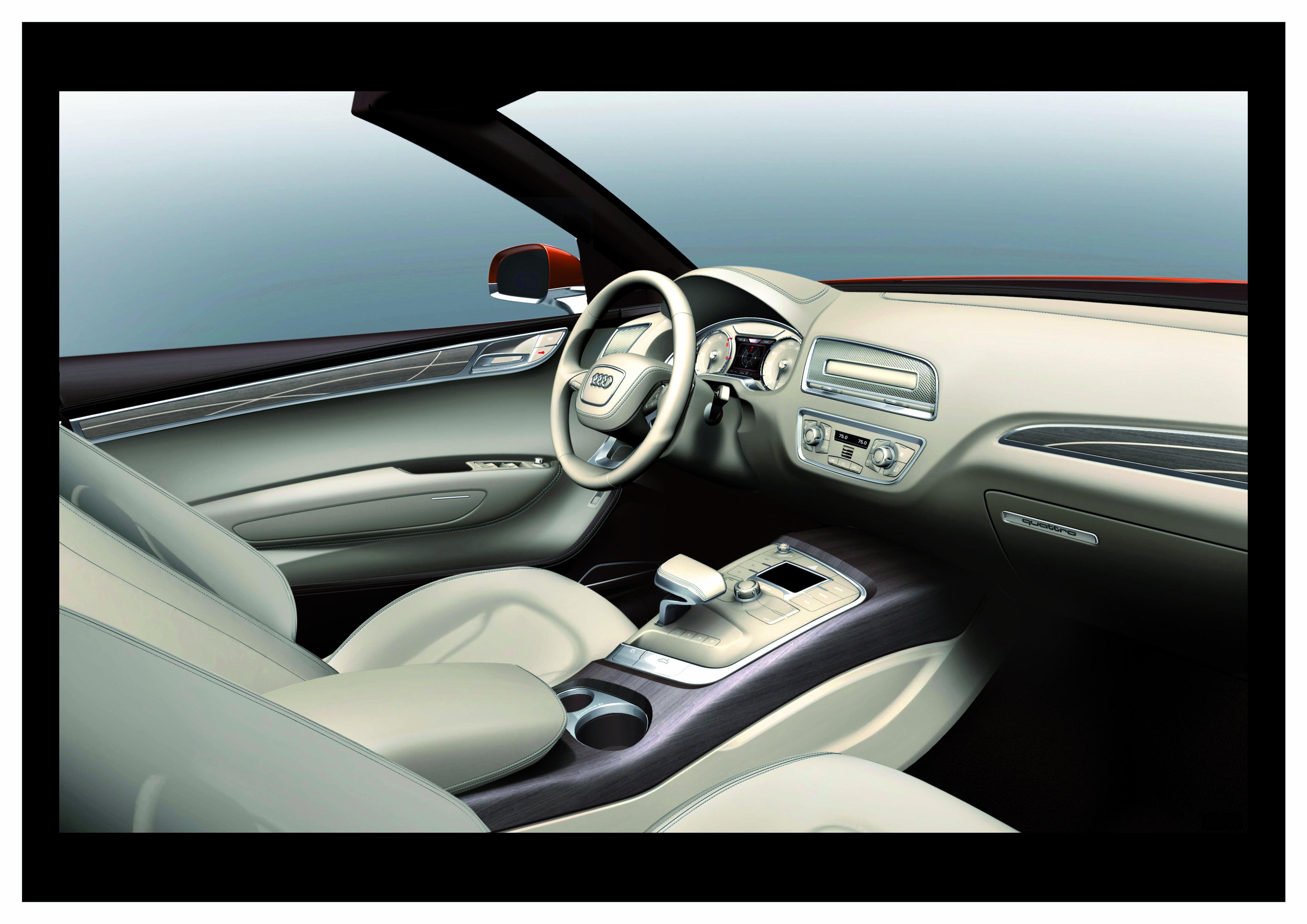 Audi Cross Cabriolet quattro/Innenraum