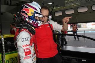 Miguel Molina y su ingeniero Laurent Fedacou