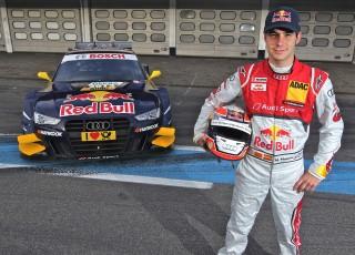 Miguel Molina y su nuevo Audi A5 DTM