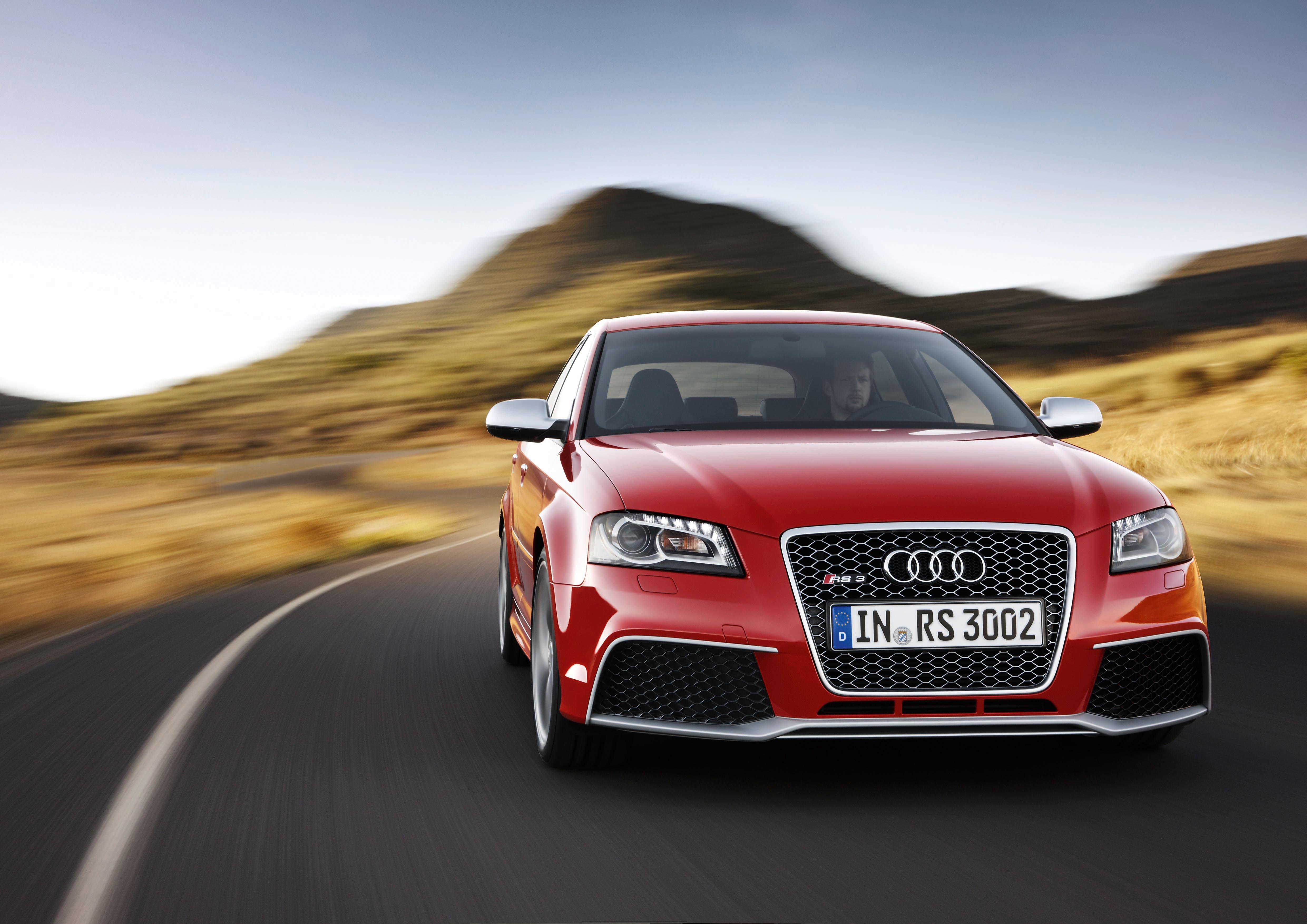 Audi RS 3 Sportback /Fahraufnahme