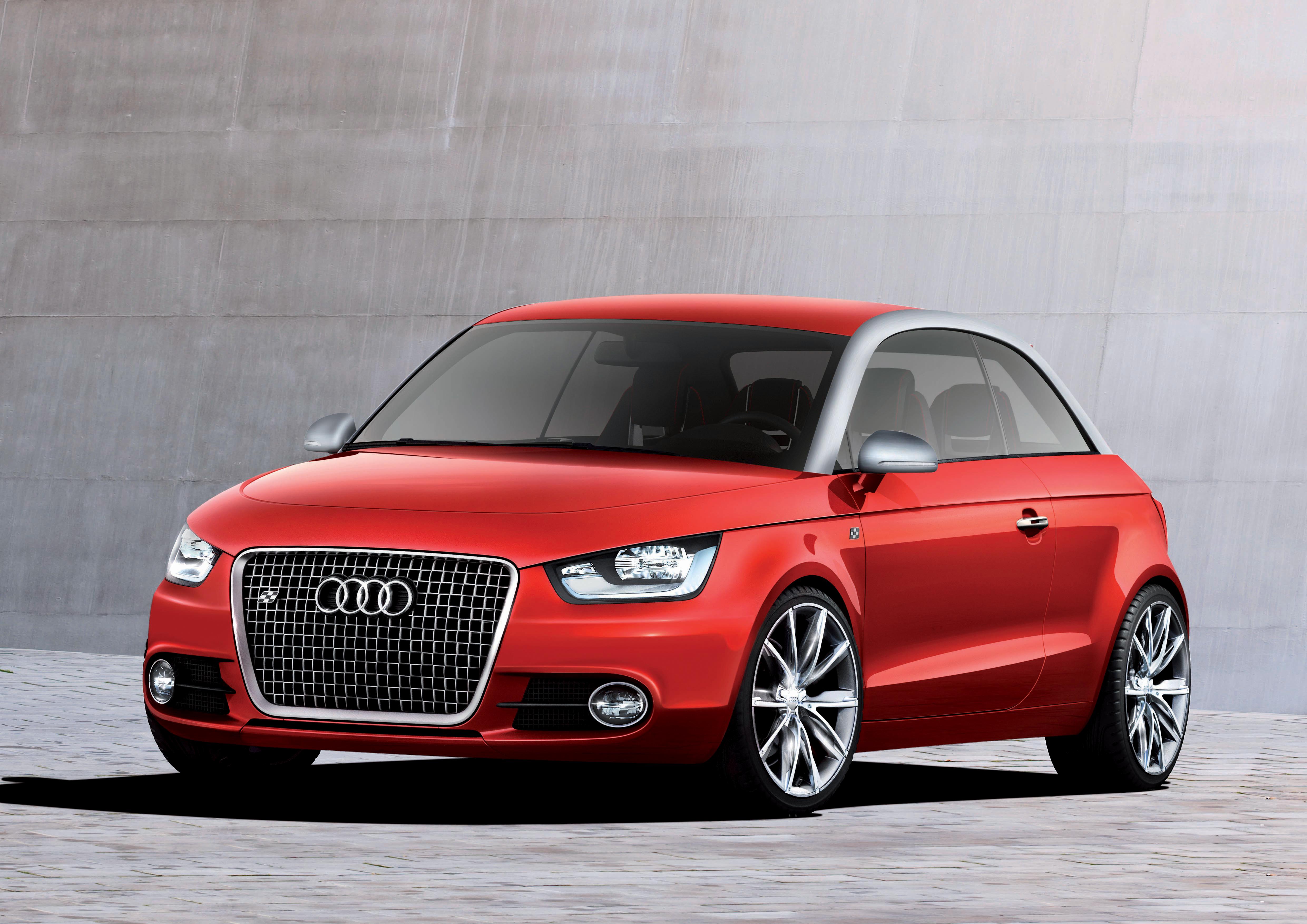 Audi metroproject quattro/Standaufnahme