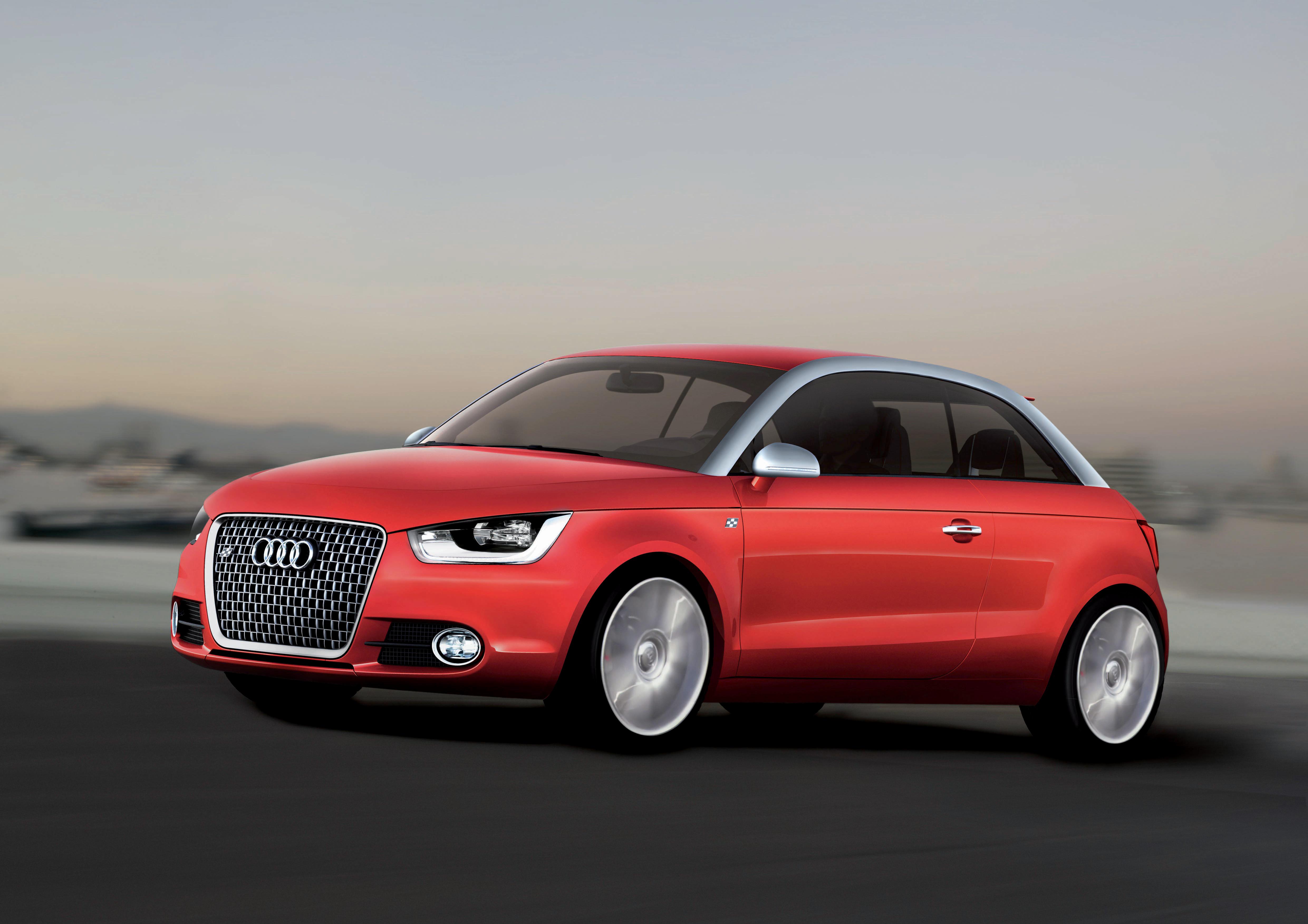Audi metroproject quattro/Fahraufnahme