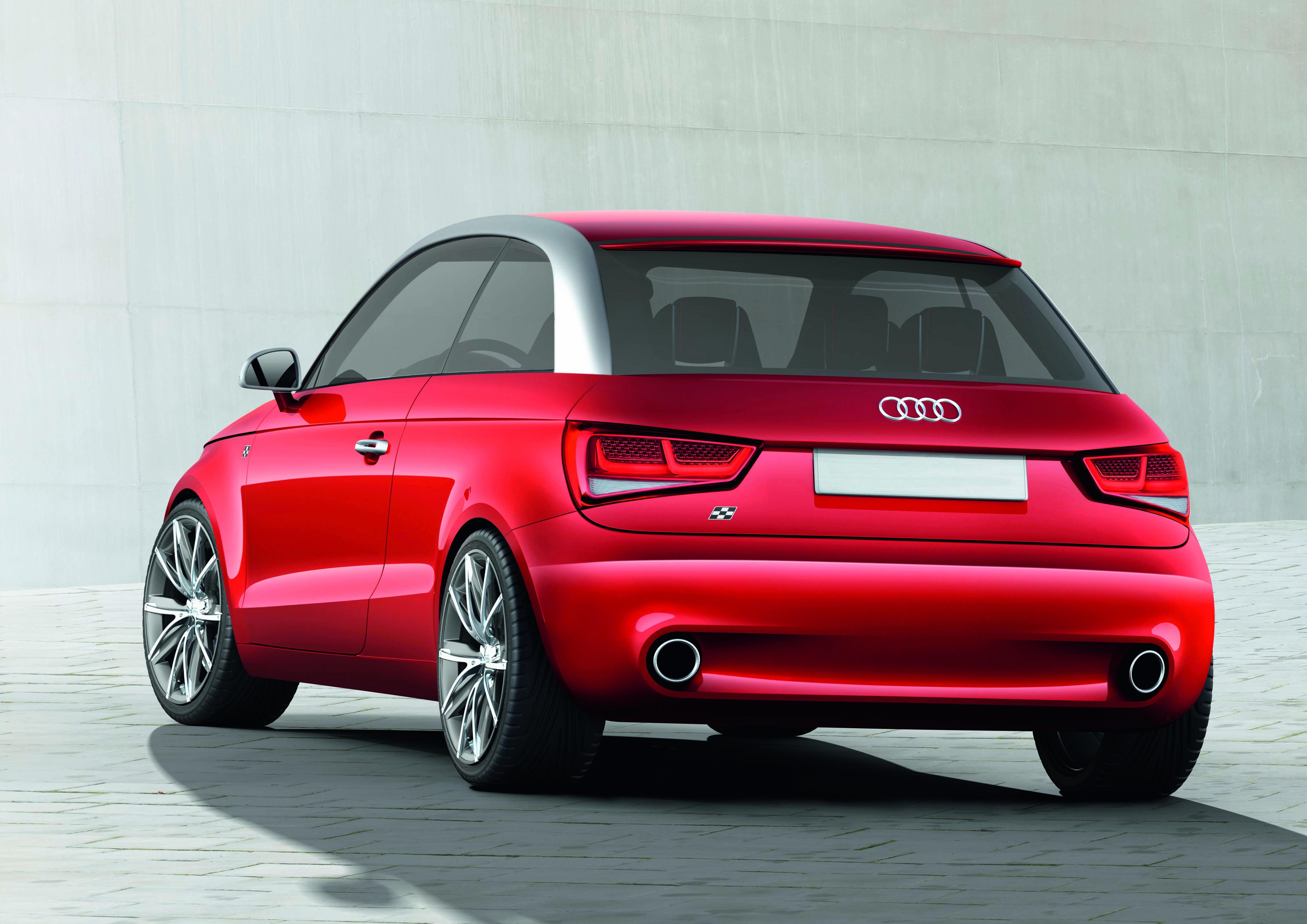 Audi A1 project quattro/Standaufnahme