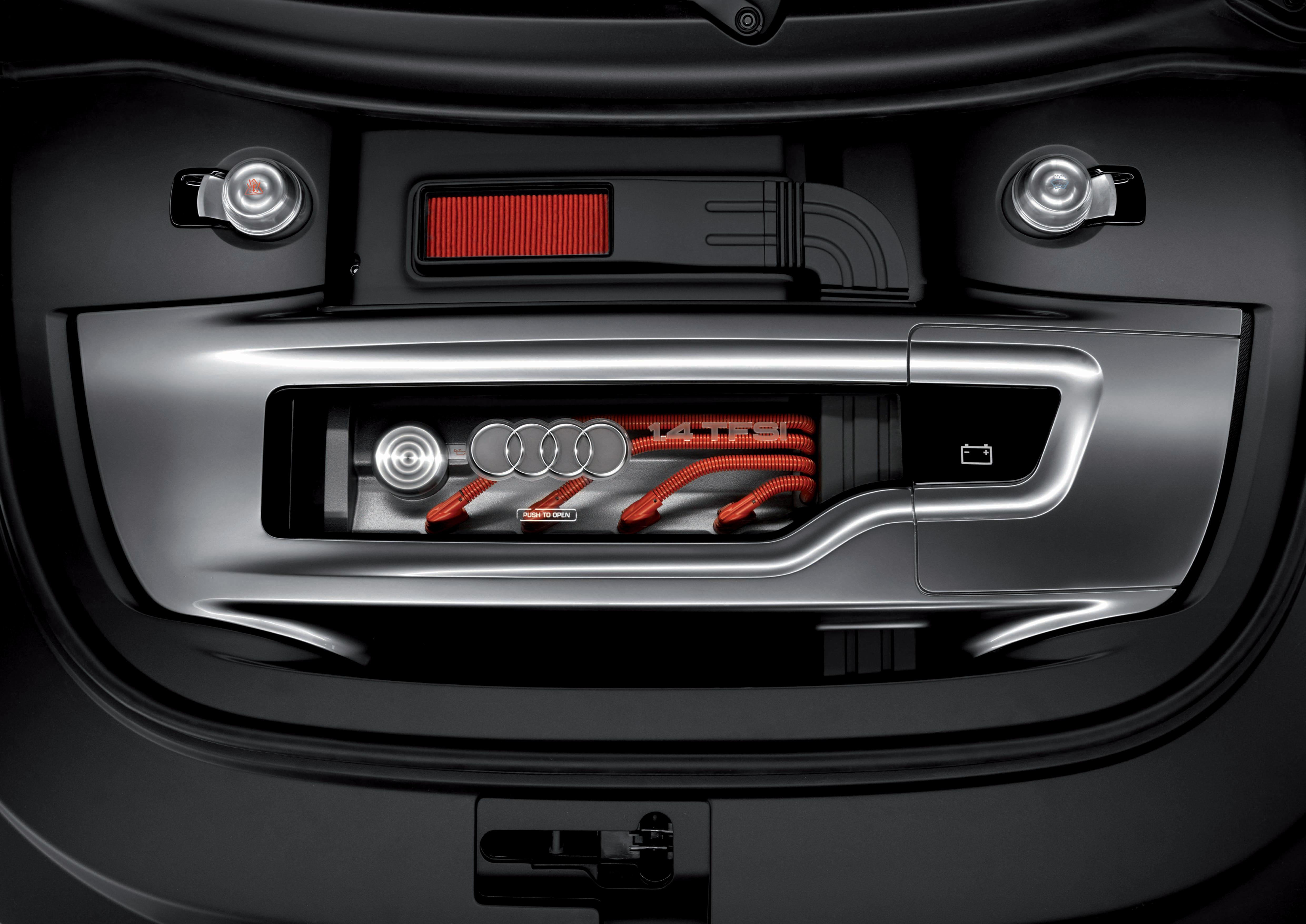 Audi metroproject quattro/Motorraum