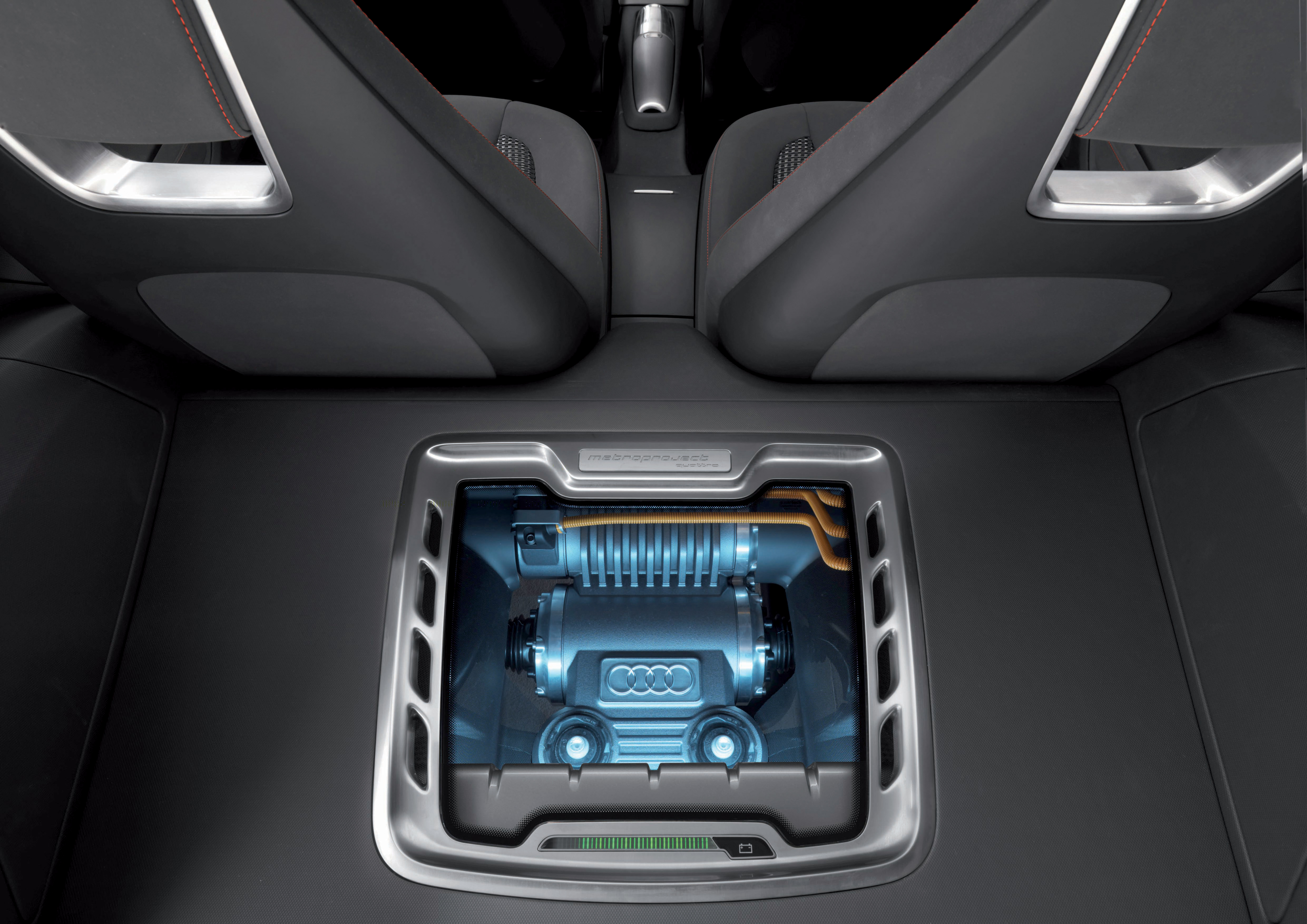 Audi metroproject quattro/Elektromotor