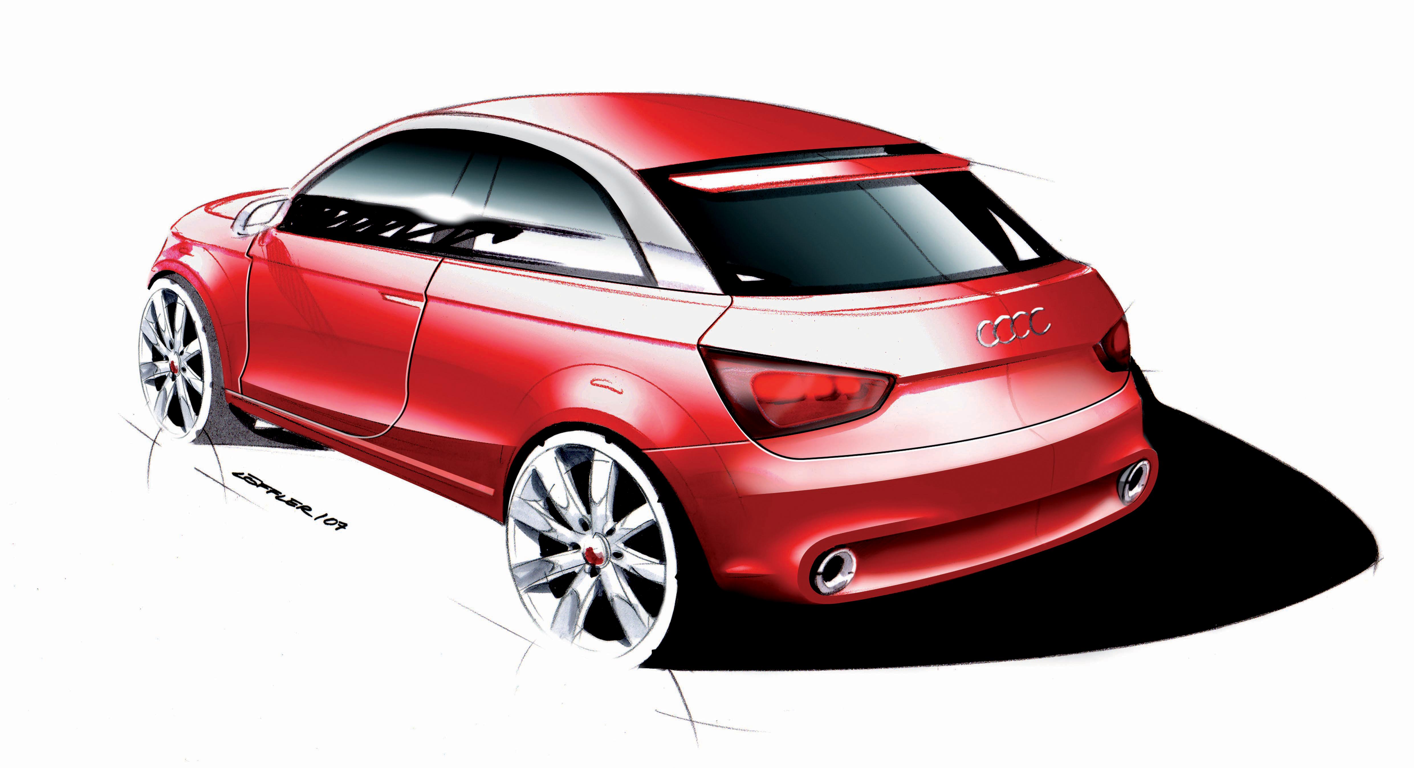 Audi metroproject quattro/Design