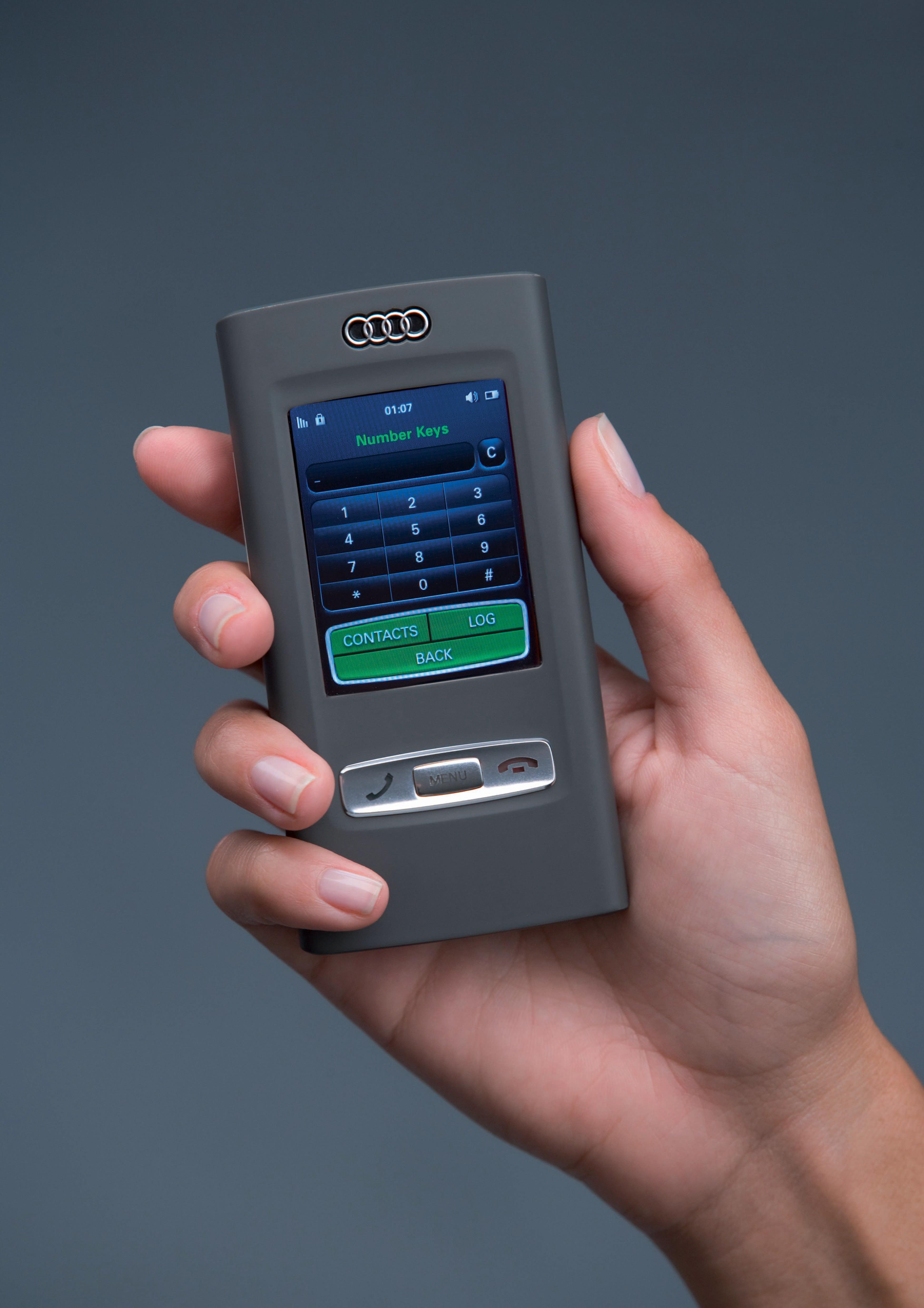 Audi metroproject quattro/Audi mobile device