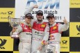 Triplete Audi en Brands Hatch