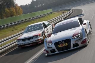 V8 quattro y A5 DTM